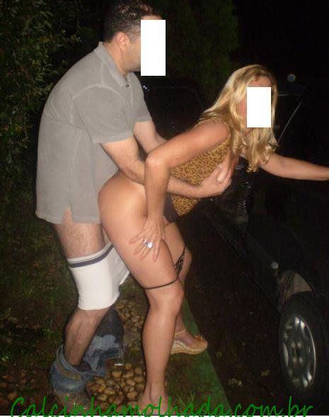 Esposa safada fazendo a festa dos caminhoneiros